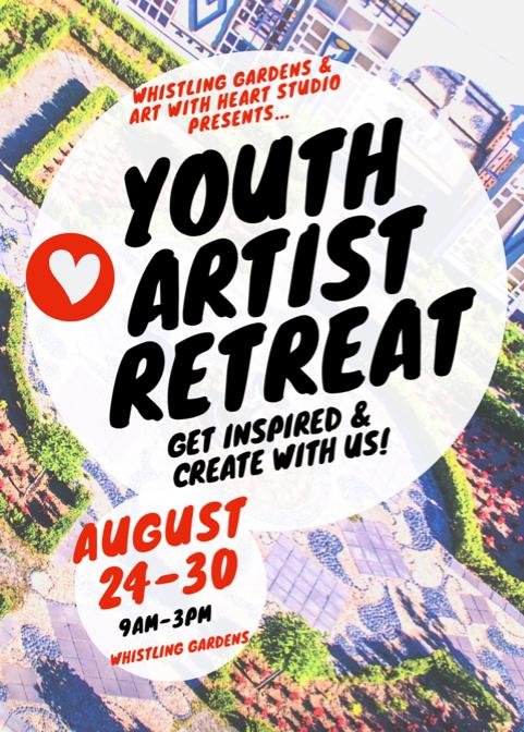 youth artist retreat